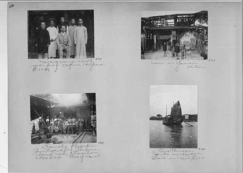 Mission Photograph Album - China #1 page  0112