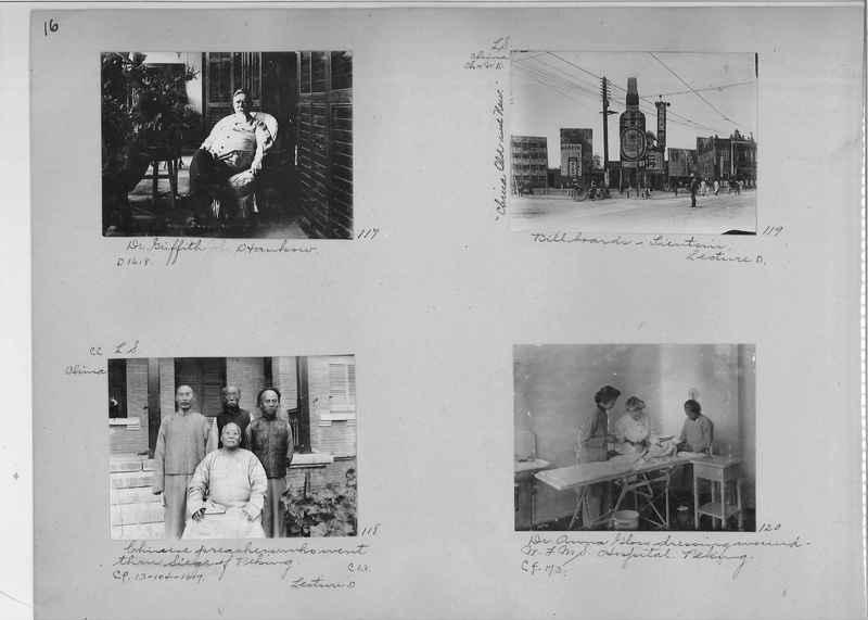 Mission Photograph Album - China #1 page  0016