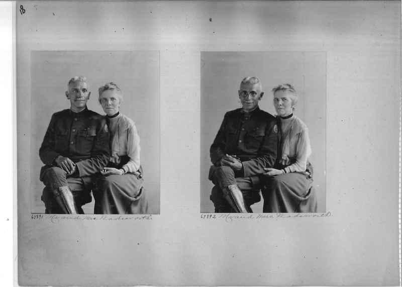 Mission Photograph Album - Portraits #3 page 0018