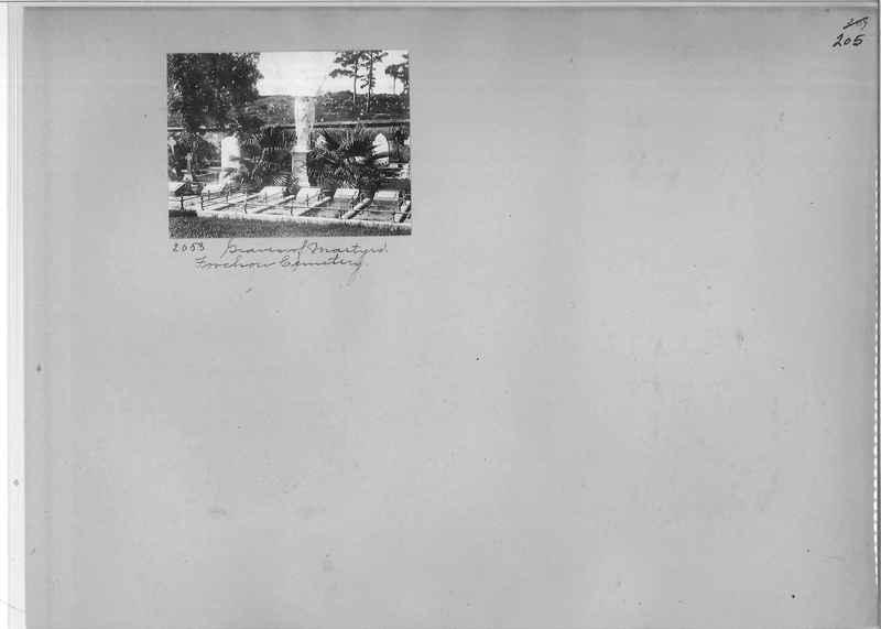 Mission Photograph Album - China #1 page  0205
