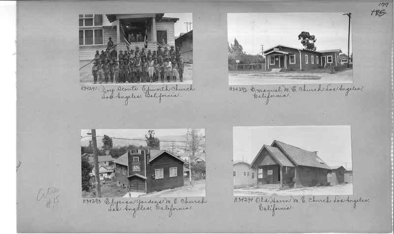 Mission Photograph Album - Cities #15 page 0177