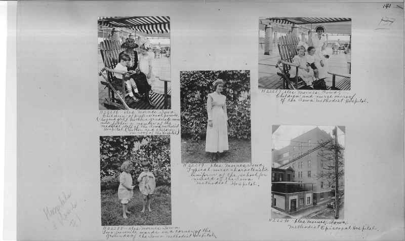 Mission Photograph Album - Hospitals and Homes #1 page 0141