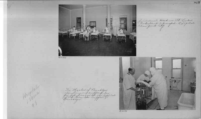 Mission Photograph Album - Hospitals and Homes #1 page 0059