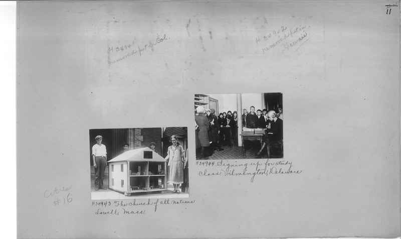 Mission Photograph Album - Cities #16 page 0011
