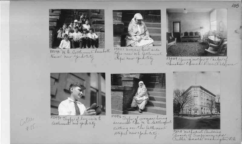 Mission Photograph Album - Cities #15 page 0105