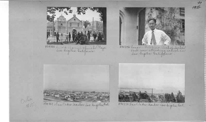Mission Photograph Album - Cities #15 page 0187