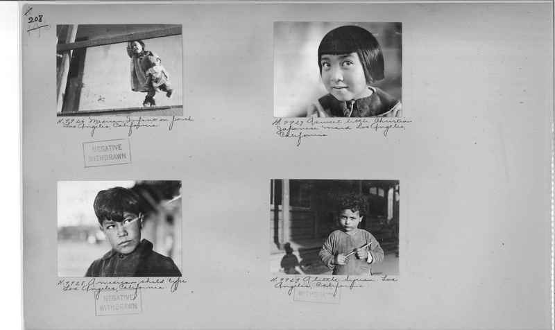 Mission Photograph Album - Cities #4 page 0208