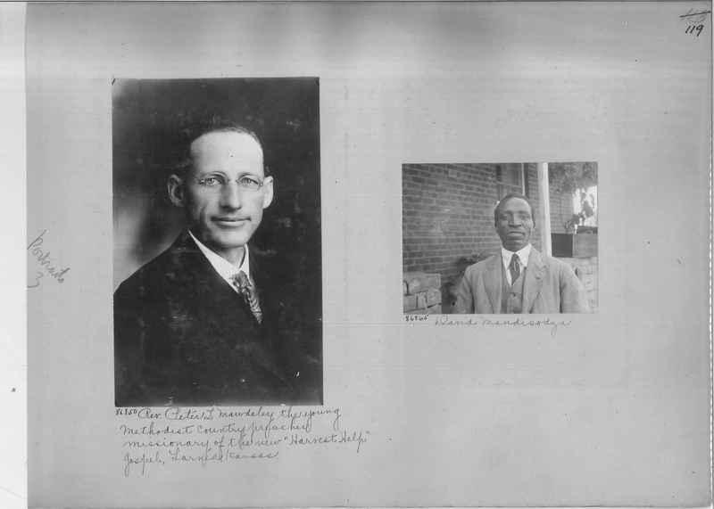 Mission Photograph Album - Portraits #3 page 0119