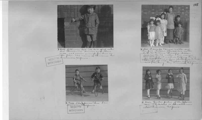 Mission Photograph Album - Cities #4 page 0125