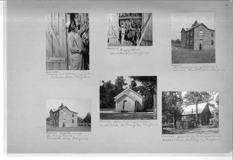 Mission Photograph Album - Negro #7 page 0011