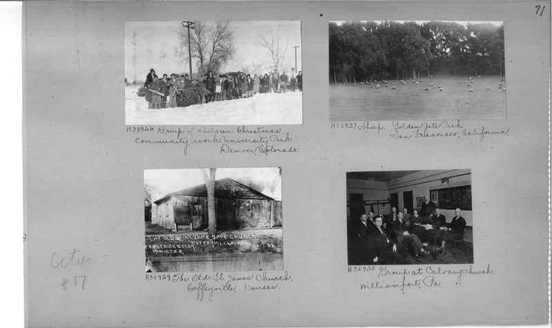 Mission Photograph Album - Cities #17 page 0071