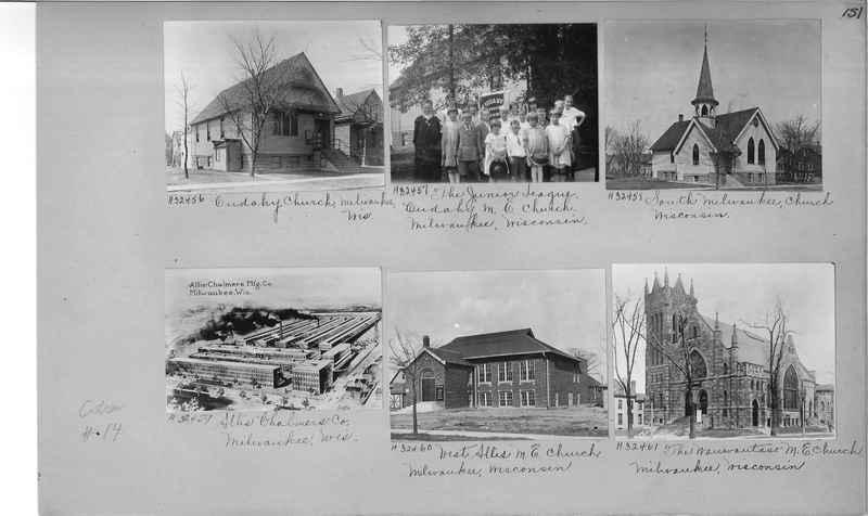 Mission Photograph Album - Cities #14 page 0151