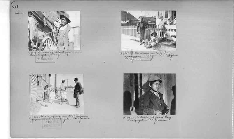 Mission Photograph Album - Cities #4 page 0206