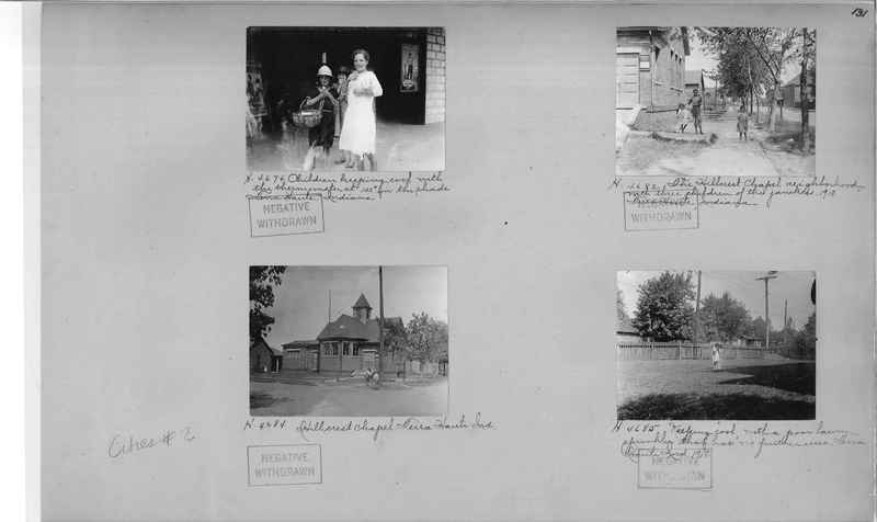 Mission Photograph Album - Cities #2 page 0131