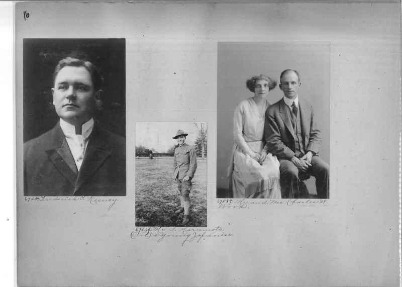 Mission Photograph Album - Portraits #3 page 0016