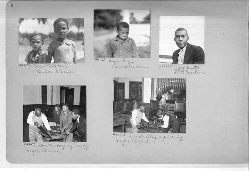 Mission Photograph Album - Negro #7 page 0008