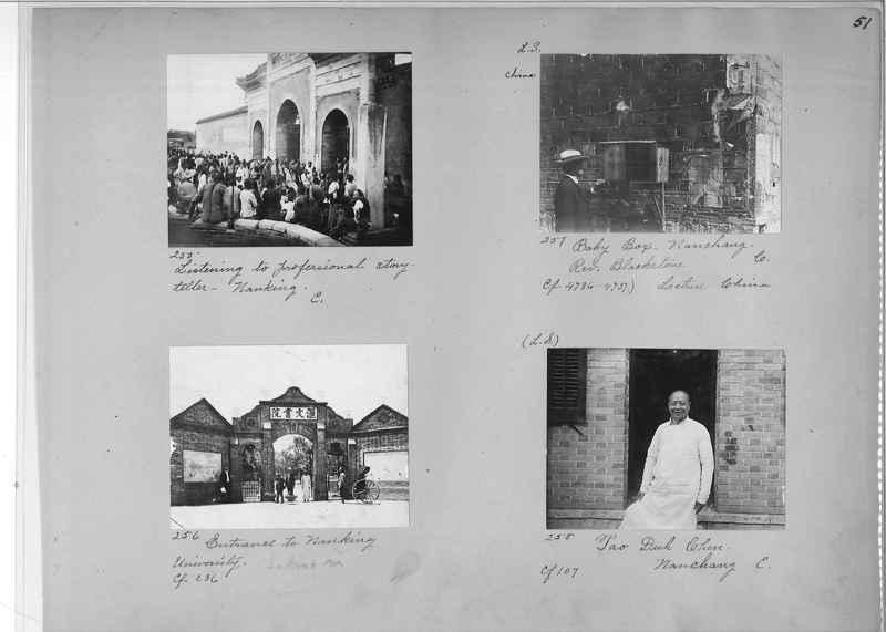 Mission Photograph Album - China #1 page  0051