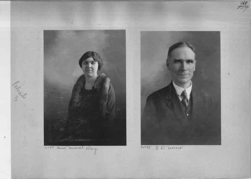 Mission Photograph Album - Portraits #3 page 0165