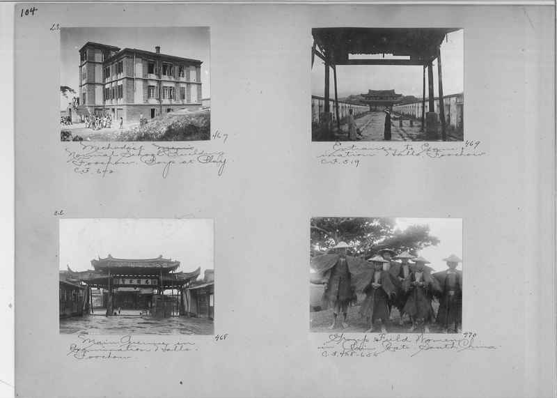 Mission Photograph Album - China #1 page  0104