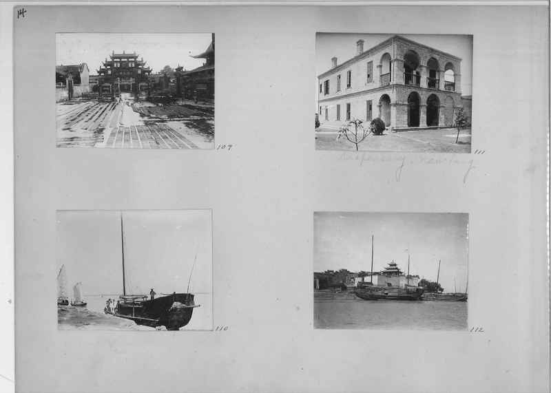 Mission Photograph Album - China #1 page  0014