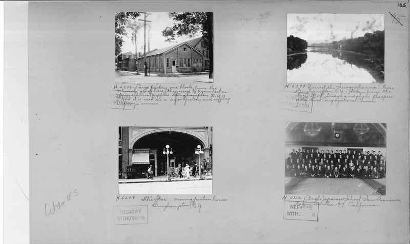 Mission Photograph Album - Cities #3 page 0105