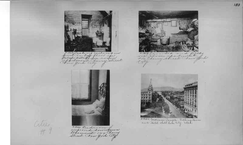 Mission Photograph Album - Cities #9 page 0183