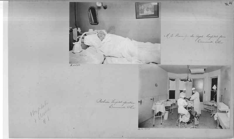 Mission Photograph Album - Hospitals and Homes #1 page 0021