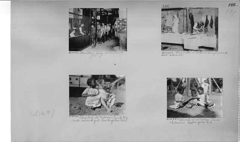Mission Photograph Album - Cities #7 page 0195
