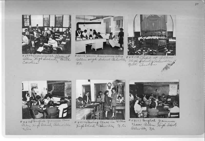 Mission Photograph Album - Negro #7 page 0037