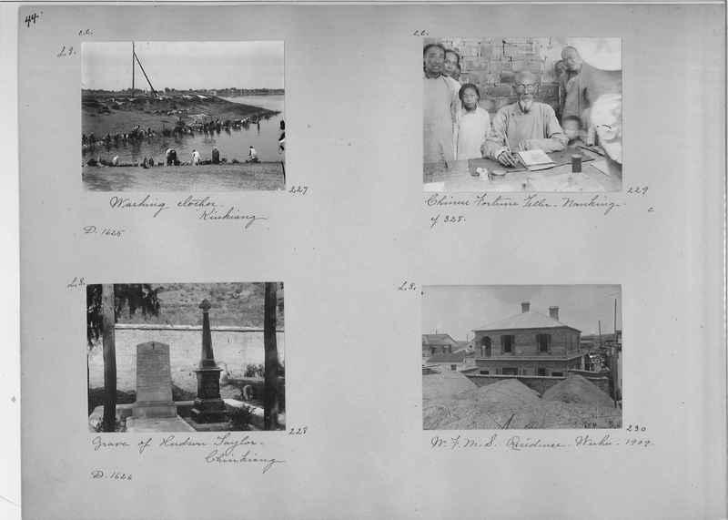 Mission Photograph Album - China #1 page  0044