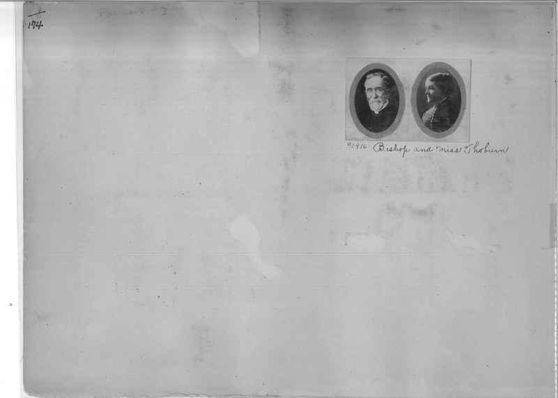 Mission Photograph Album - Portraits #3 page 0174