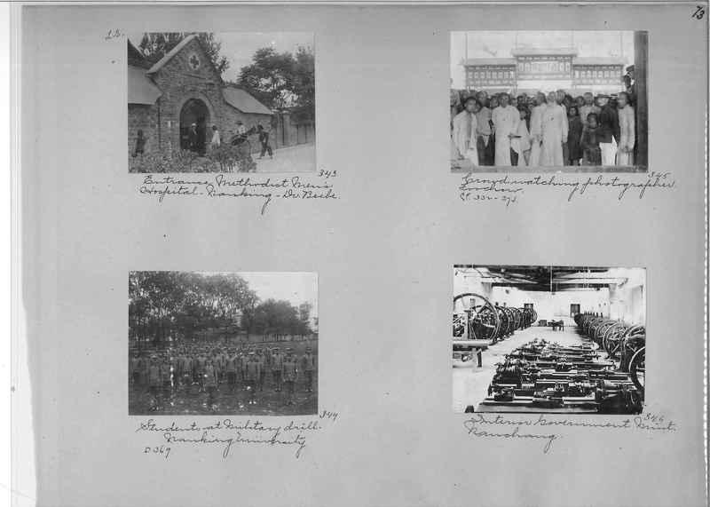 Mission Photograph Album - China #1 page  0073