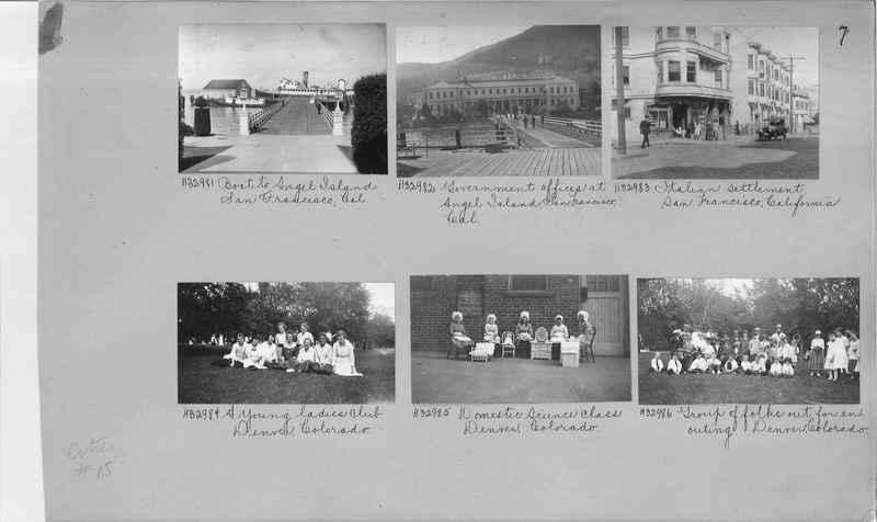 Mission Photograph Album - Cities #15 page 0007