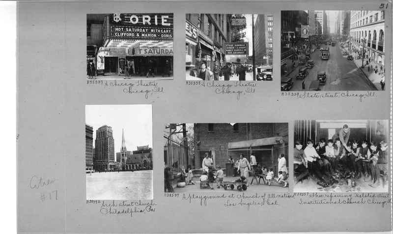 Mission Photograph Album - Cities #17 page 0051