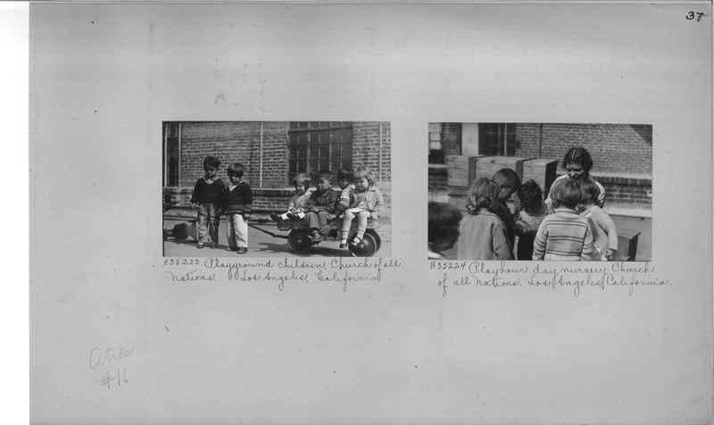Mission Photograph Album - Cities #16 page 0037