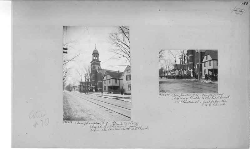 Mission Photograph Album - Cities #10 page 0183