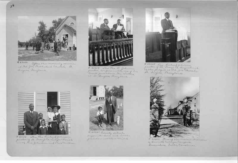 Mission Photograph Album - Negro #7 page 0024