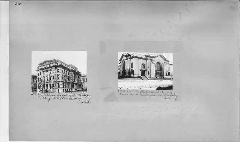 Mission Photograph Album - Cities #9 page 0210