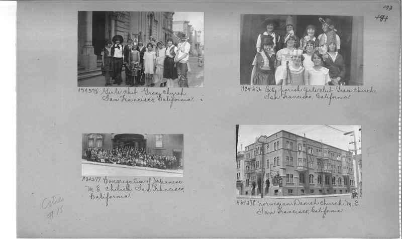 Mission Photograph Album - Cities #15 page 0173