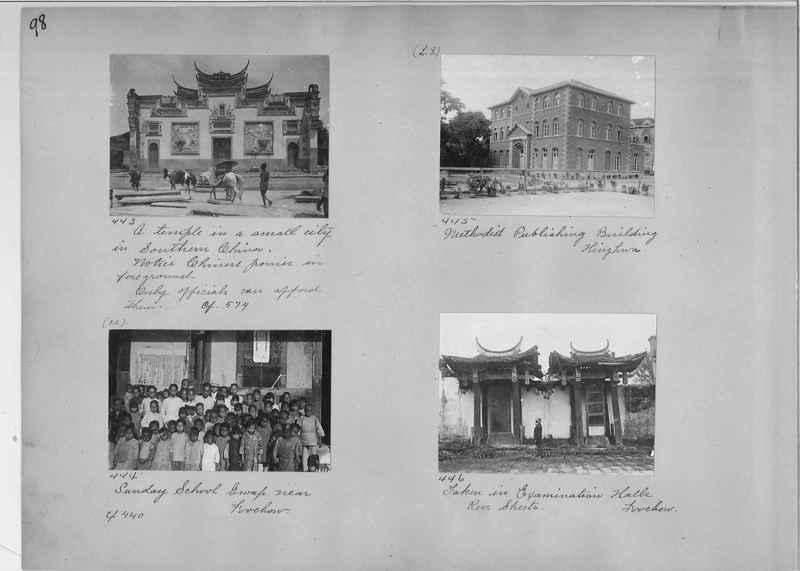 Mission Photograph Album - China #1 page  0098