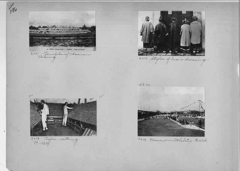 Mission Photograph Album - China #1 page  0196