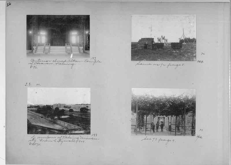 Mission Photograph Album - China #1 page  0026