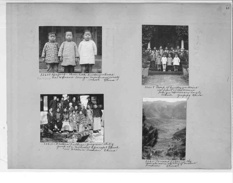 Mission Photograph Album - China #11 pg. 0065