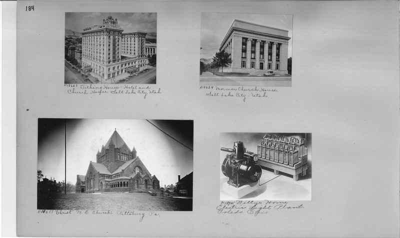 Mission Photograph Album - Cities #9 page 0184