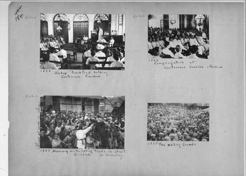 Mission Photograph Album - China #1 page  0184