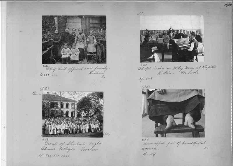 Mission Photograph Album - China #1 page  0145