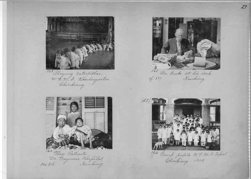 Mission Photograph Album - China #1 page  0027