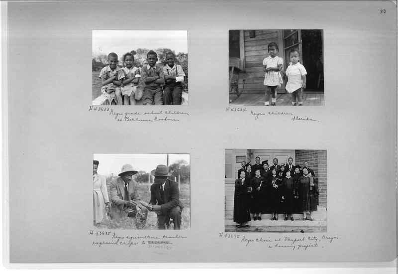 Mission Photograph Album - Negro #7 page 0033