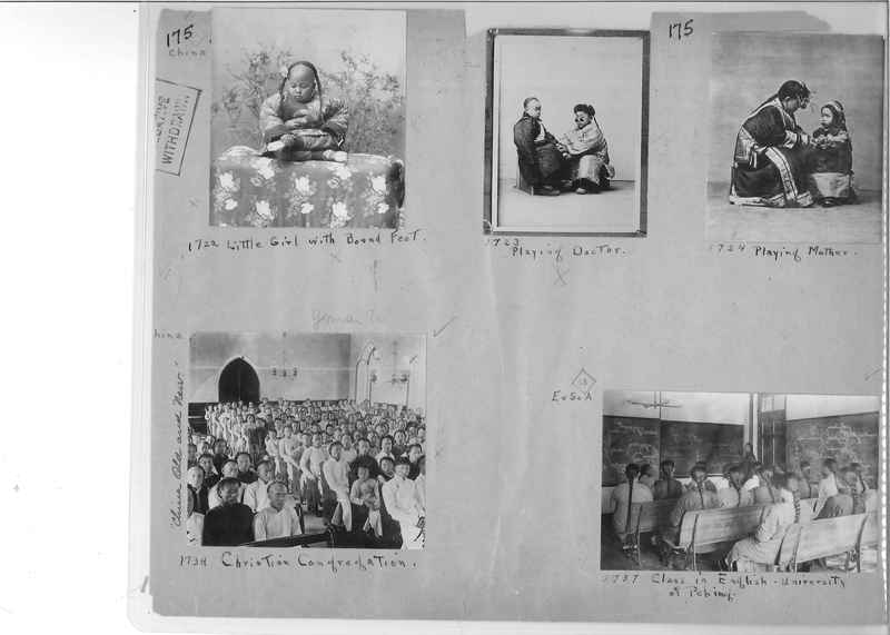 Mission Photograph Album - China #1 page  0175