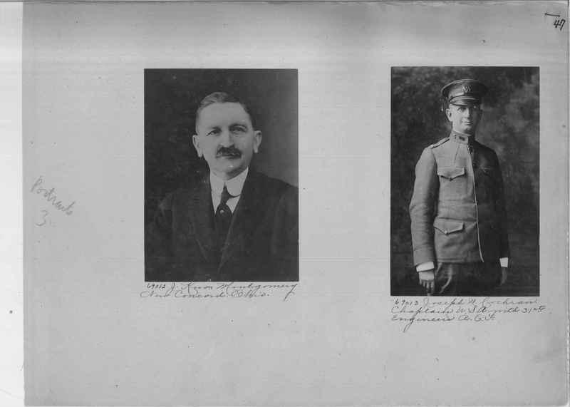 Mission Photograph Album - Portraits #3 page 0047